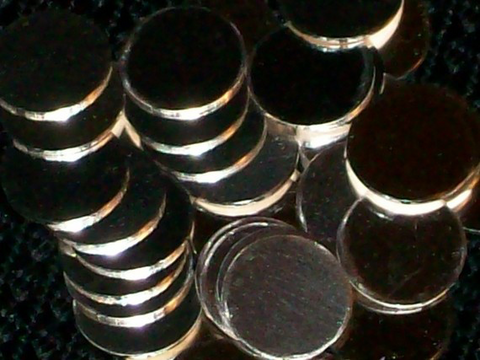 Sterling Silver Discs Stamping Blanks