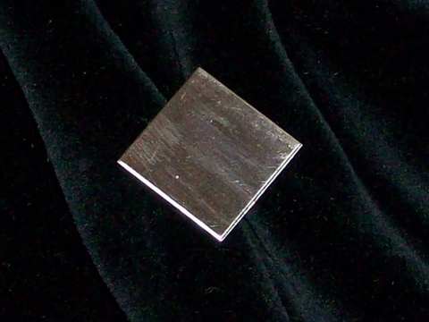 Sterling Silver Squares Stamping Blanks