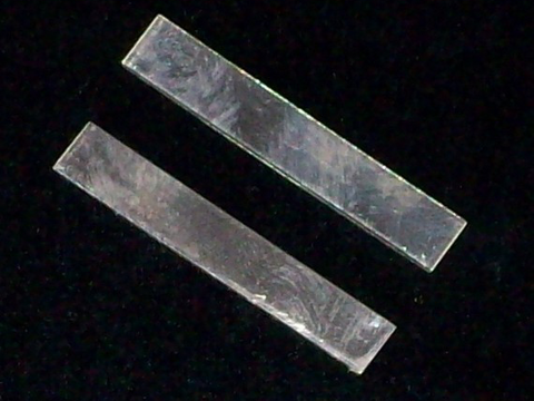 "Sterling Silver Tags Stamping Blanks R1, 3/8"" - 1 1/4"""