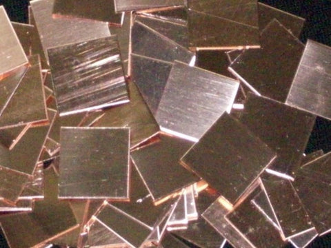 Copper Squares Stamping Blanks