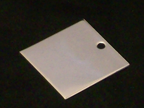 Stainless Steel Squares Stamping Blanks