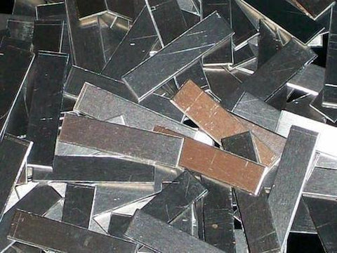 "Aluminum Tags Stamping Blanks R5, 1 3/4"" - 1 7/8"""