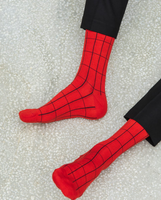 "Chaussettes ""Red & Night"" - PAR THEORY OF TWO"