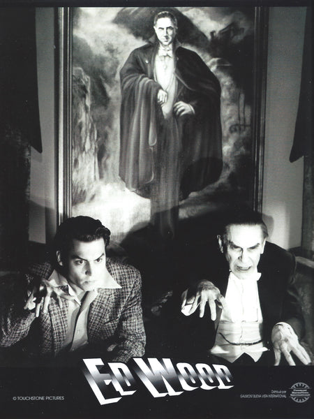 Ed Wood - Tim Burton - Lobby card originale N°3 - 1994