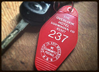 "Porte-clés ""Hotel Overlook - Shining"" - Made in USA"