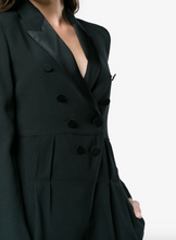 Load image into Gallery viewer, Black Tuxedo Playsuit