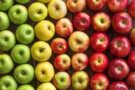 Apples (Various types per apple)