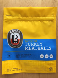 Bove's Turkey Meatballs