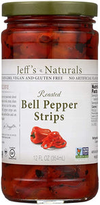 Jeff's Naturals Red Pepper Strips