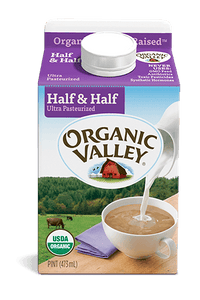 Organic Valley Half and Half (1pint)