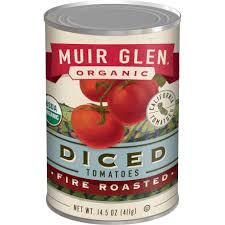 Muir Glen Fire Roasted Diced Tomatoes