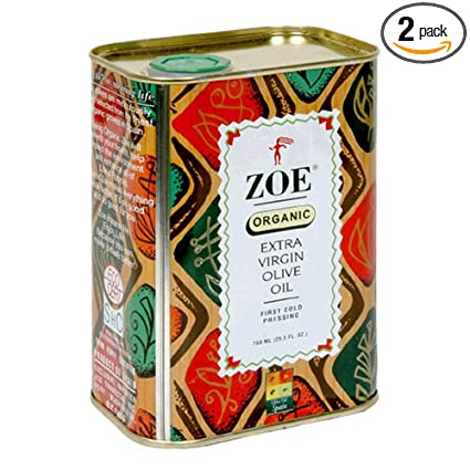 Zoe Extra Virgin Olive Oil 25.5oz
