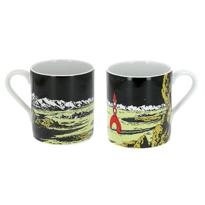 Tasse collection Tintin, Fusée