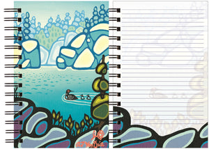 Cahier de notes, Blue Lagoon