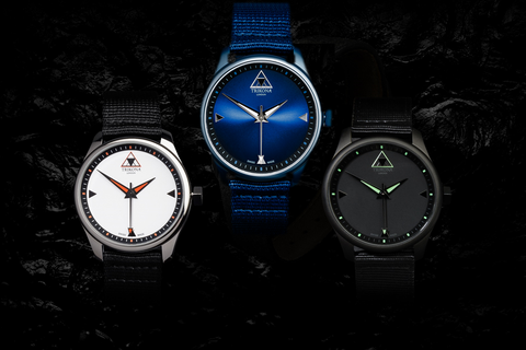 Resolute Collection by Trikona London.  Affordable Swiss Made watches.