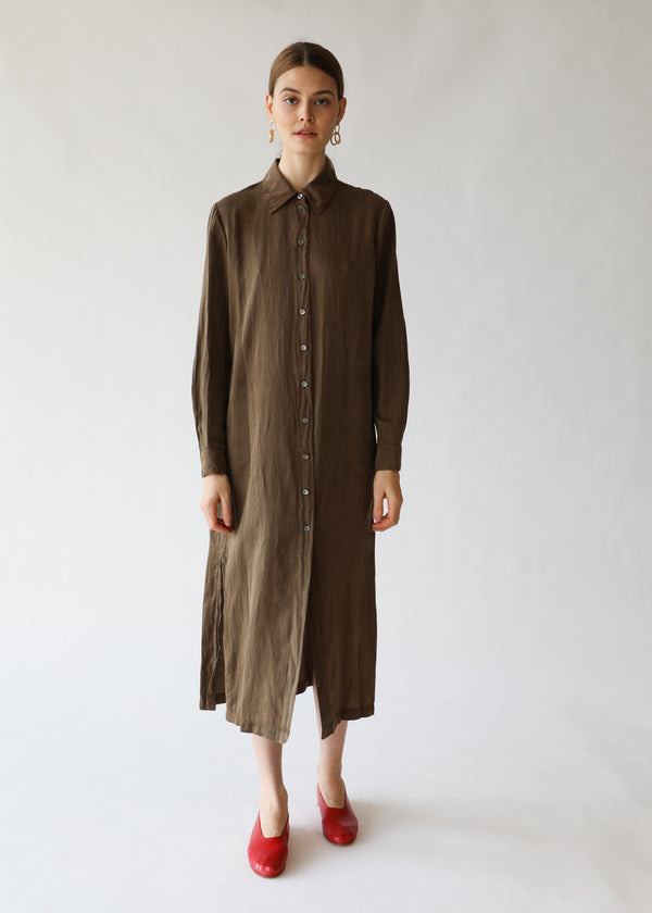 Raquel Allegra Tunic Dress in Army Green