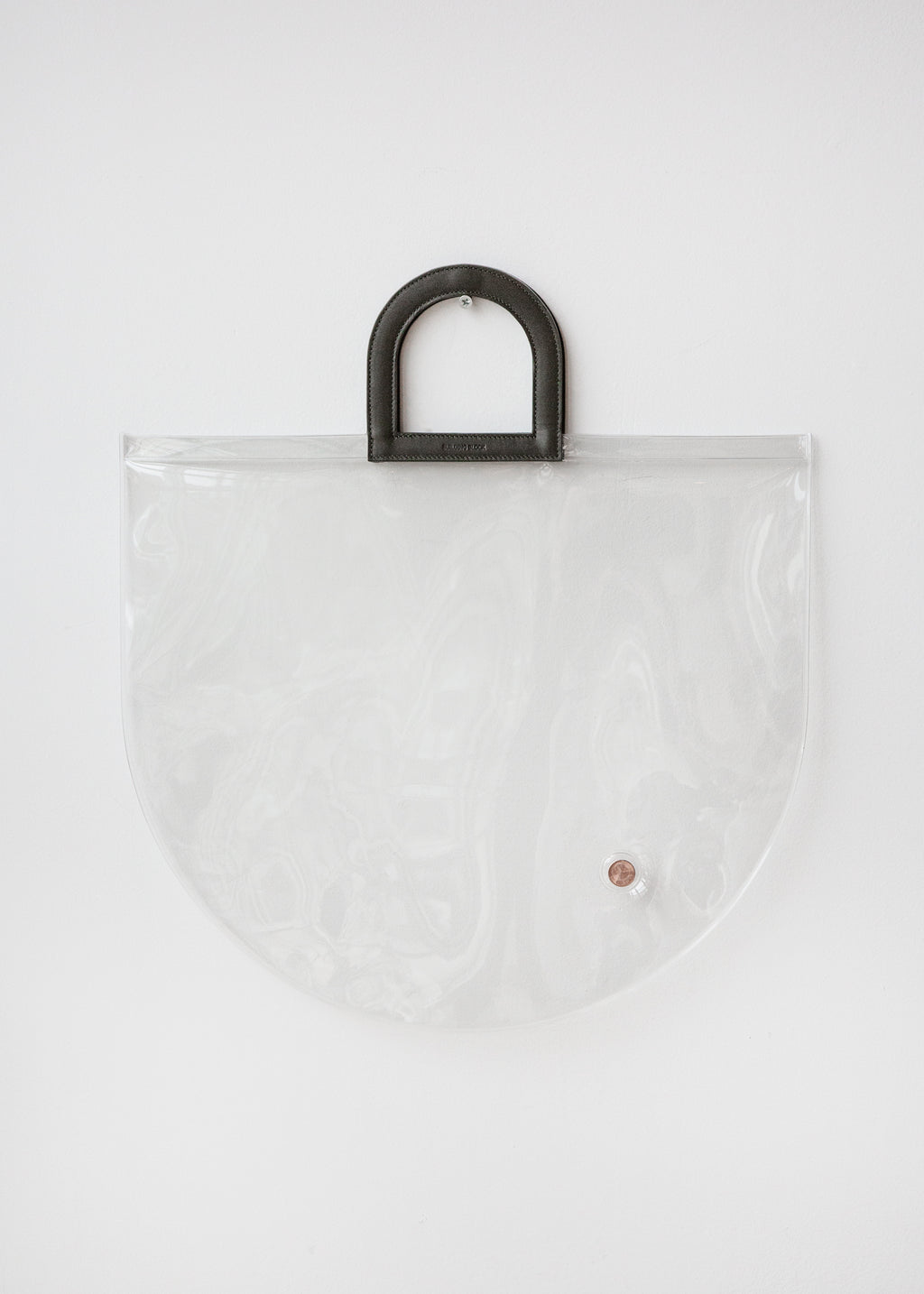 Stencil Bag in Clear PVC