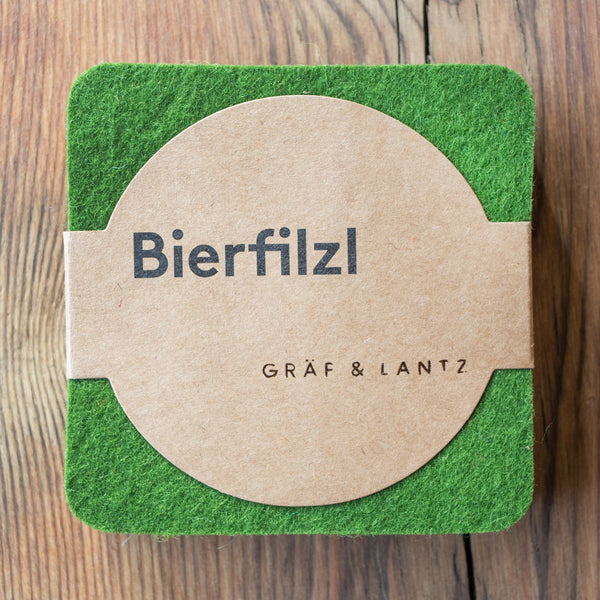 Graf & Lantz Felt Coaster 4 pack Forest
