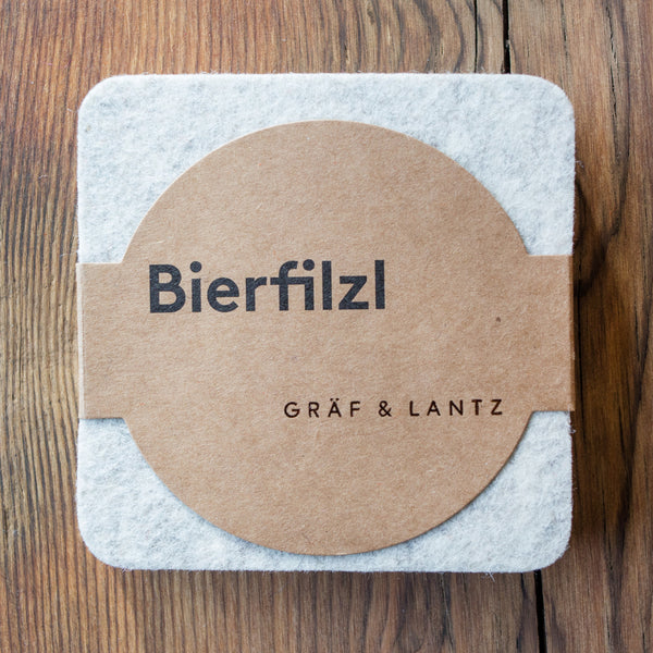 Graf & Lantz Felt Coaster 4 pack Earth