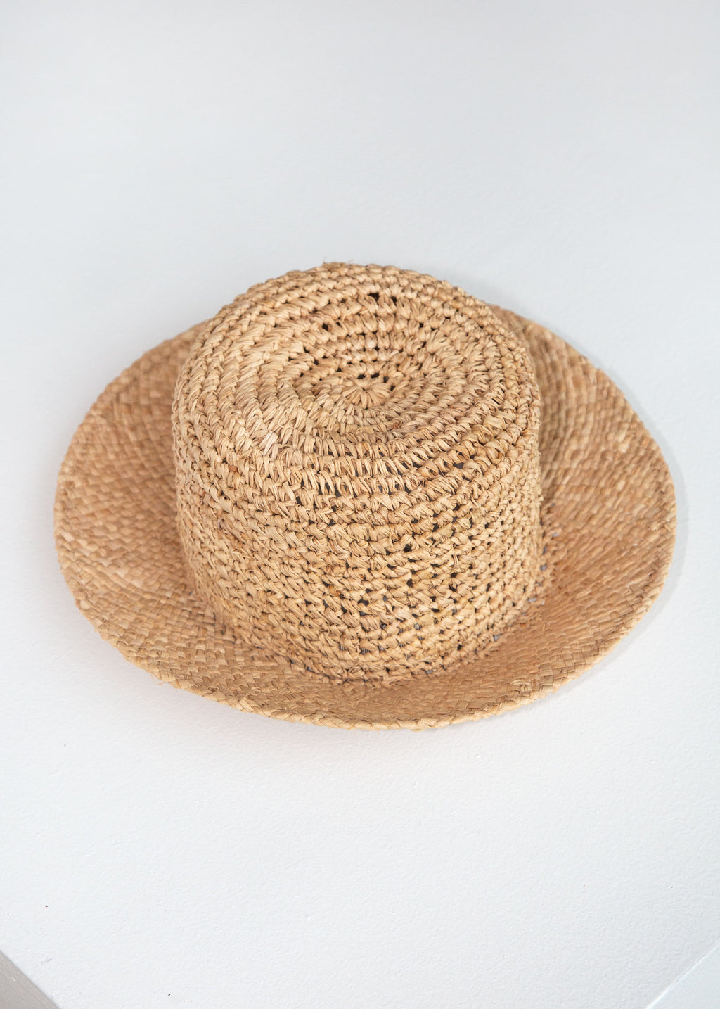 Toni Hat in Crocheted Straw - SOLD OUT