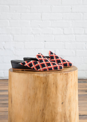 Wald Shoe in Red/Black
