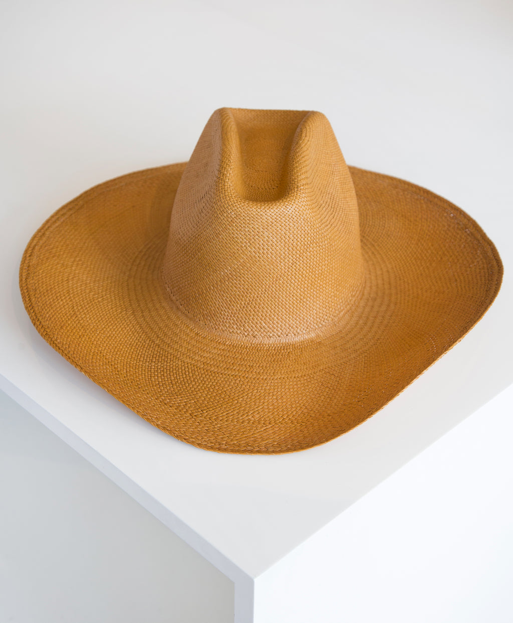 Cowboy Hat in Ochre - SOLD OUT