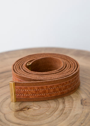 Closed Women's Belt Cinnamon