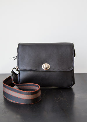 Rachel Comey Daft Fanny Pack Black Leather