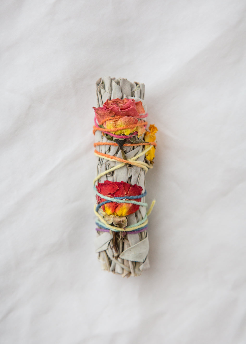 Small Floral Smudge Stick