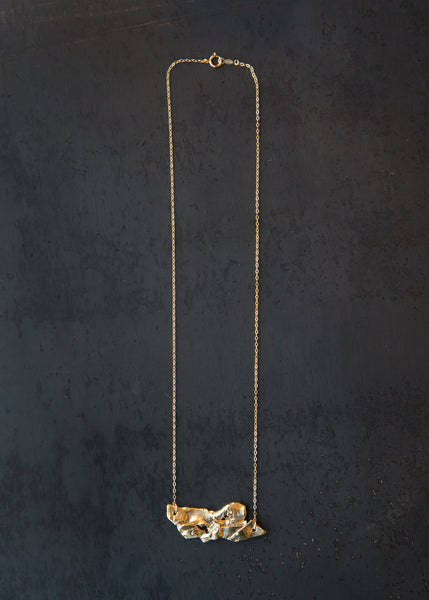 8.6.4 Abstract Necklace Brass