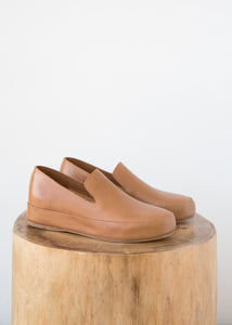 Feit Hand Sewn Slipper Tan