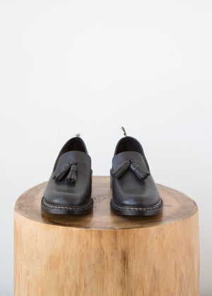 Feit Braided Loafer Black