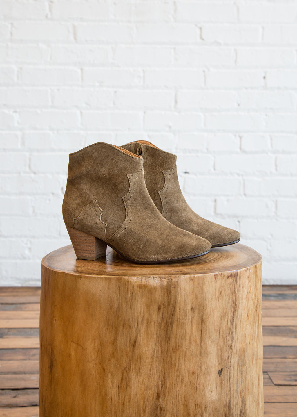 Isabel Marant Etoile Dicker Boot Brown $224