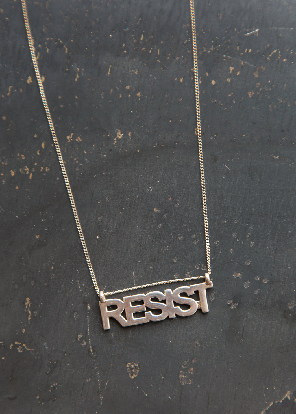 Janesko Resist Necklace Sterling Silver - SOLD OUT