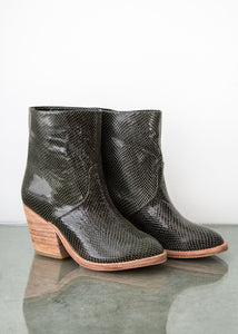 Golda Boot in Hunter Green