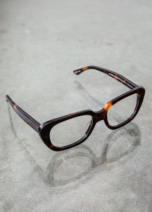 Gloria Optical Glasses in Tortoise - SOLD OUT