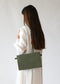 Shoulder Bag in Olive Green