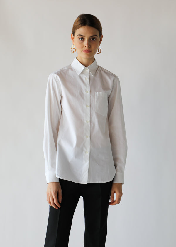 Buttondown Shirt in White