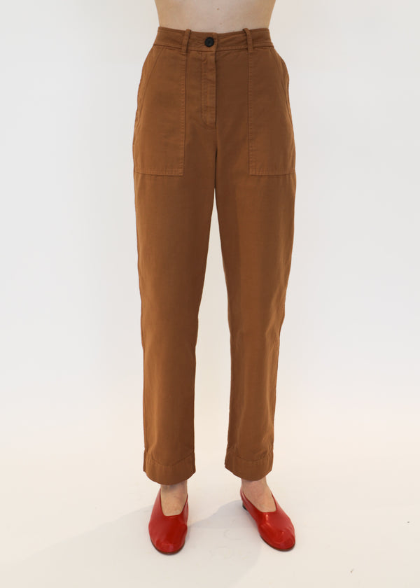 Officers Pant in Mocha