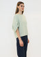Balloon Sleeve Top in Mint