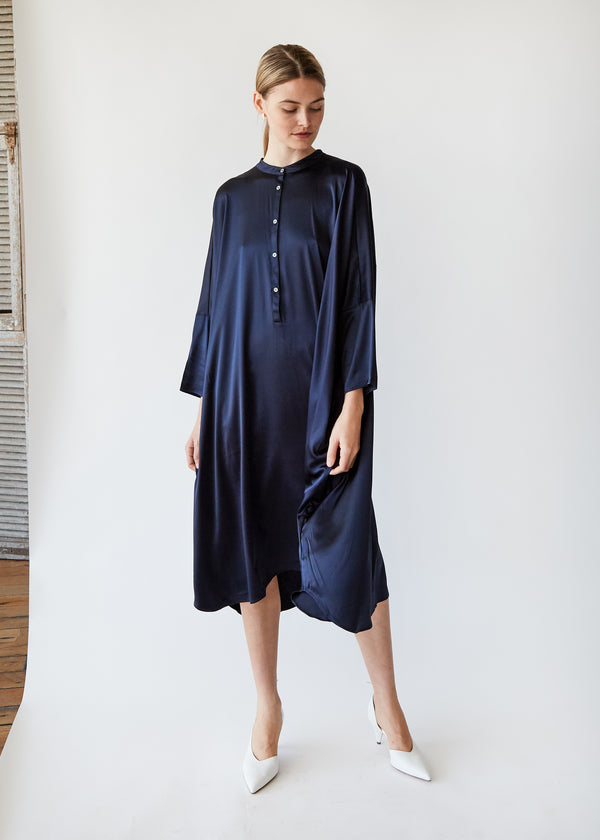 Big Square Dress in Midnight