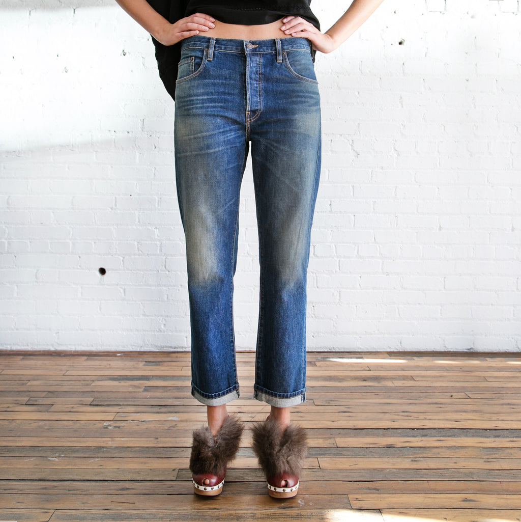 6397 - 6397 495 Jean Worn Wash  -  Finefolk - 1
