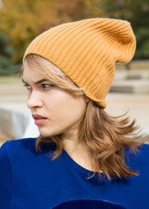 8.6.4 Beanie Cashmere Mustard - SOLD OUT