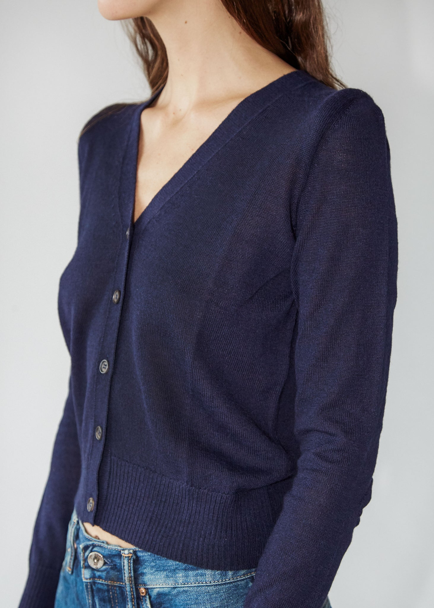 Coby Cardigan in Navy - SOLD OUT