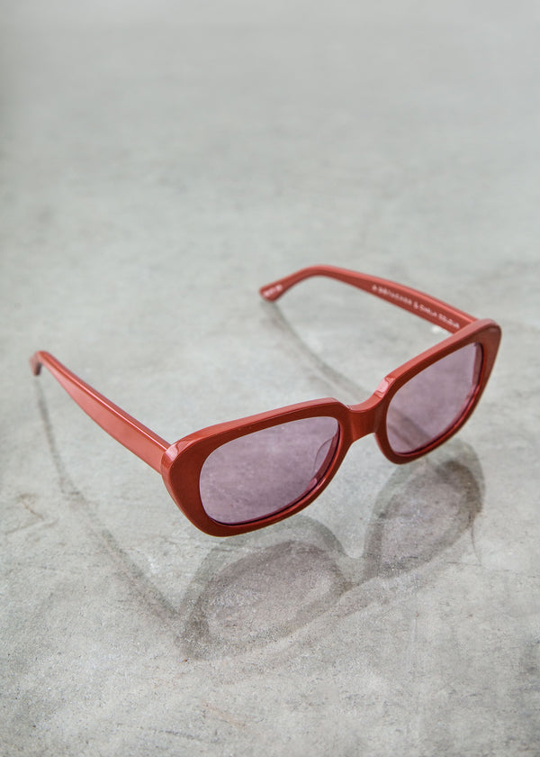 Gloria Sunglasses in Annatto Orchid