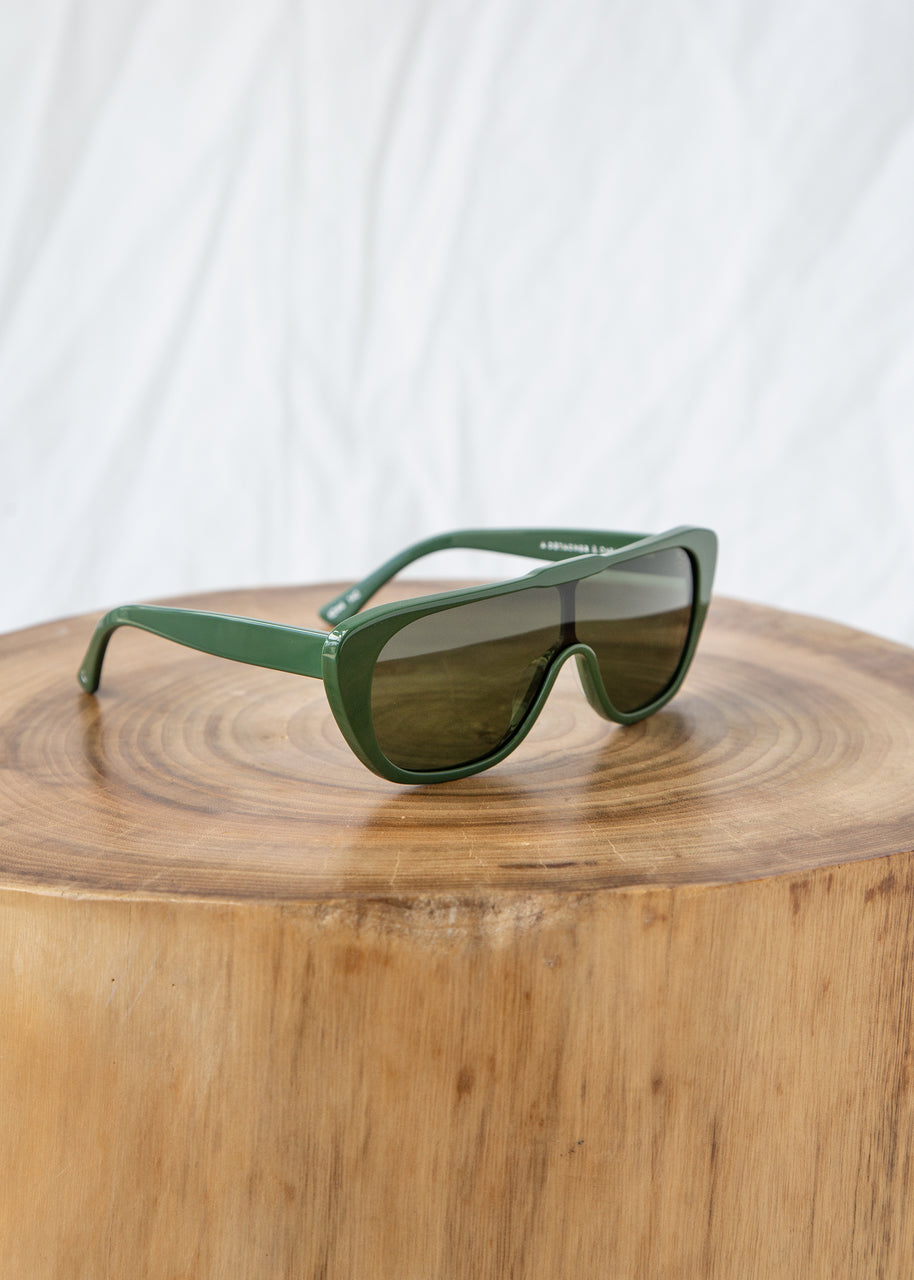 A Détacher Beryl Sunglasses in Sage Nori
