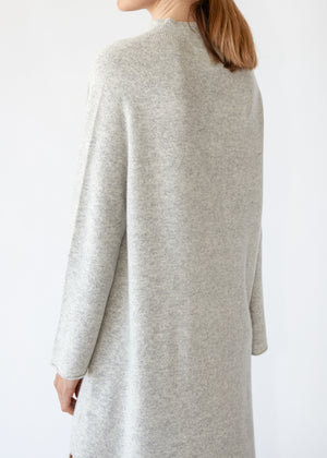 Wool Dress in Grey - SOLD OUT