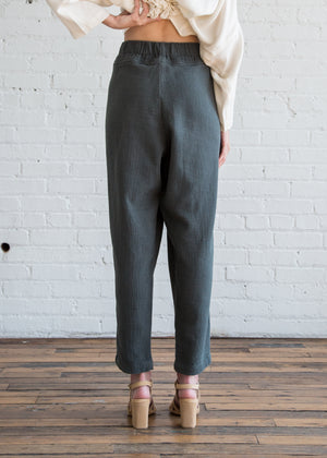 Black Crane Carpenter Pants Dark Grey