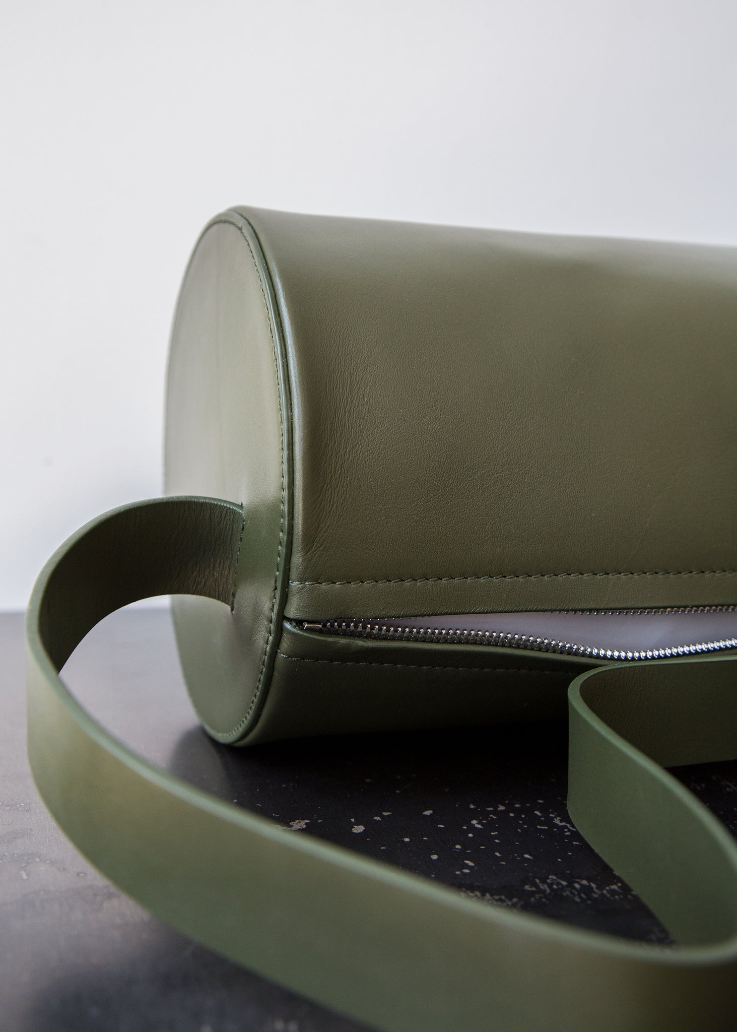 Building Block Barrel Bag Kombu