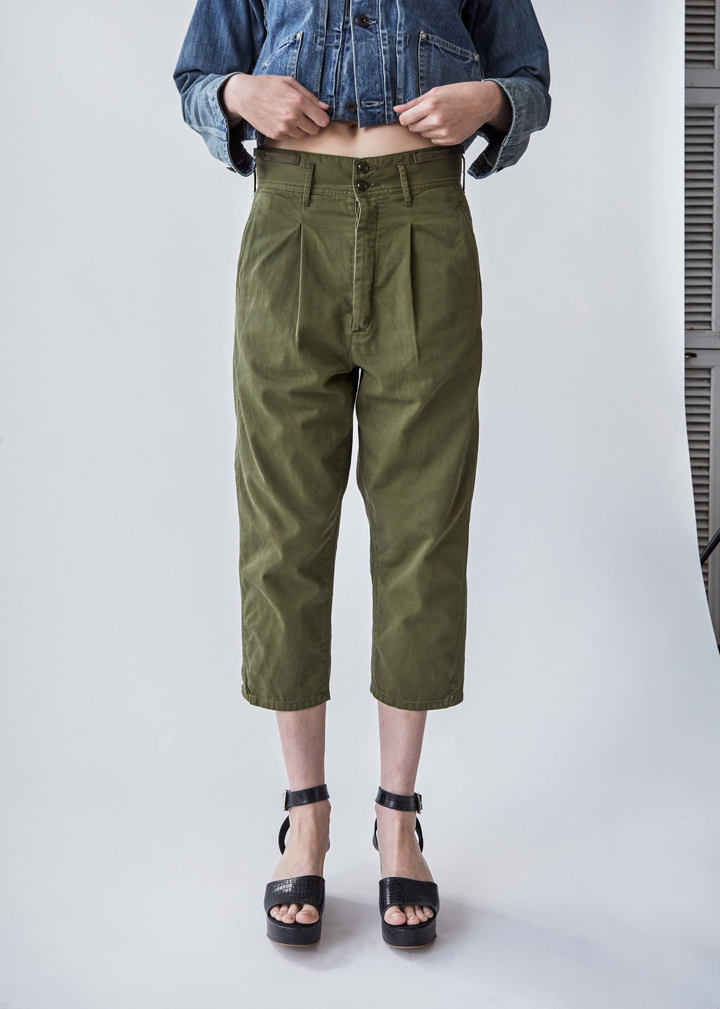 Farmer's Work Pant in Khaki Green